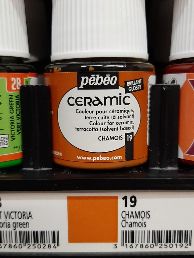 CERAMIC 45ml č.19 Chamois