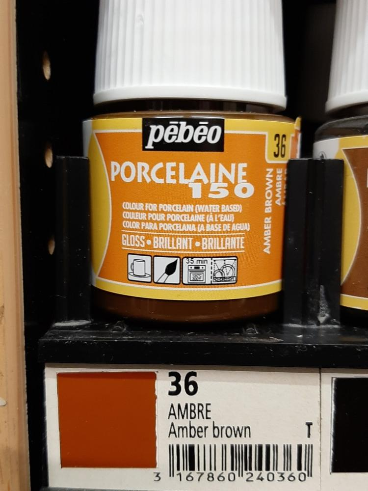 PORCELAINE 150 45ml č.36 Amber brown