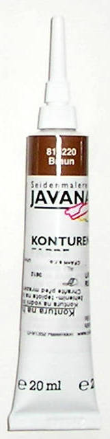 JAVANA KONTURA 20ml č.5220 Brown