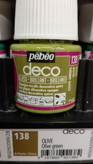 DECO 45ml LESK č.138 Olive Green