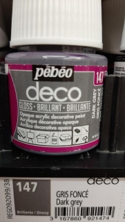 DECO 45ml LESK č.147 Dark Grey