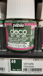 DECO 45ml MAT č.49 Forest Green