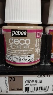 DECO 45ml MAT č.70 Ash Brown