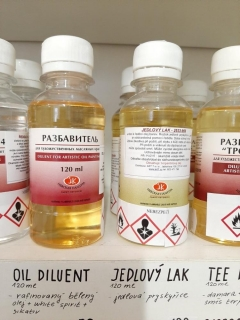 OIL DILUENT 120ml NEV.PAL.