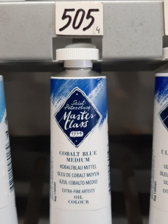 MASTER CLASS 46ml č.505 Cobalt Blue Medium