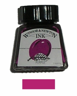 DRAWING INK 14ml č.542 purpurová