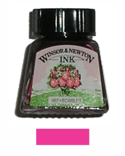 DRAWING INK 14ml č.601 scarlet